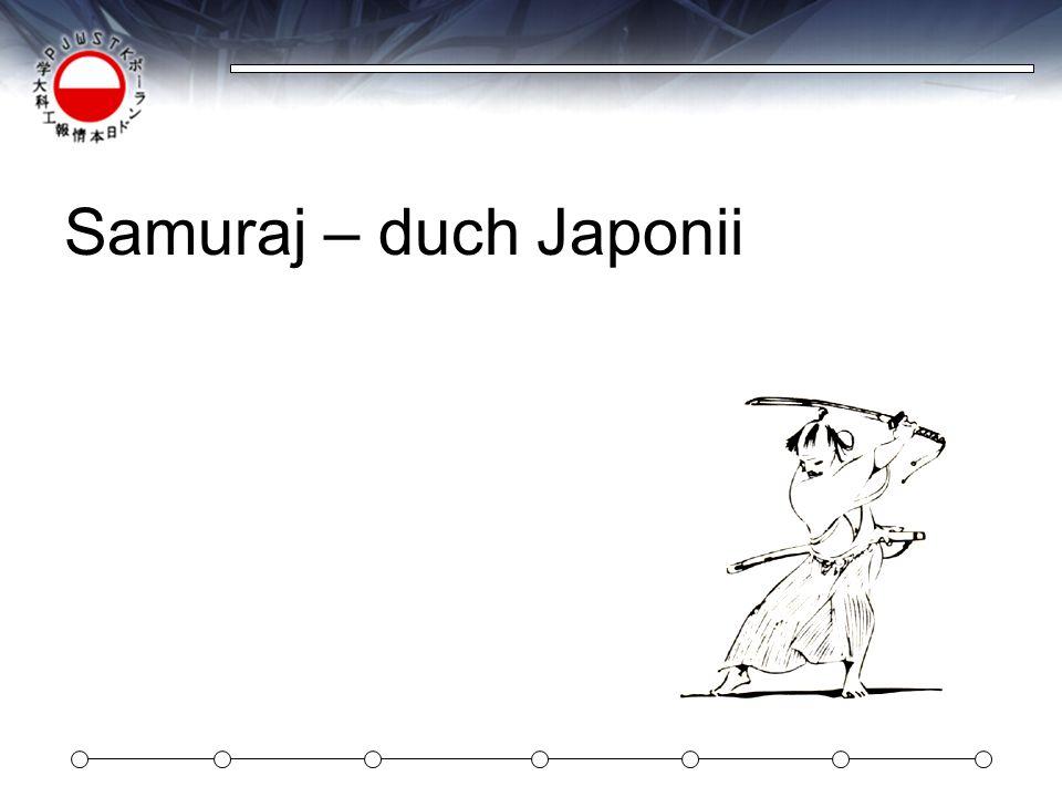 Samuraj – duch Japonii