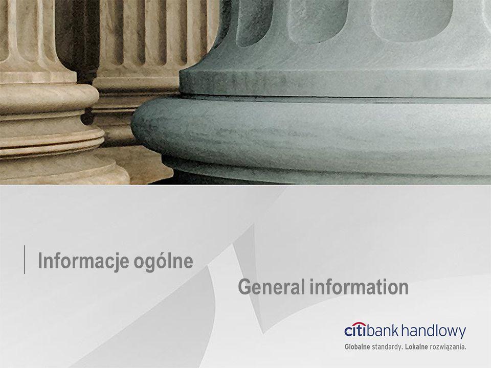 Informacje ogólne General information