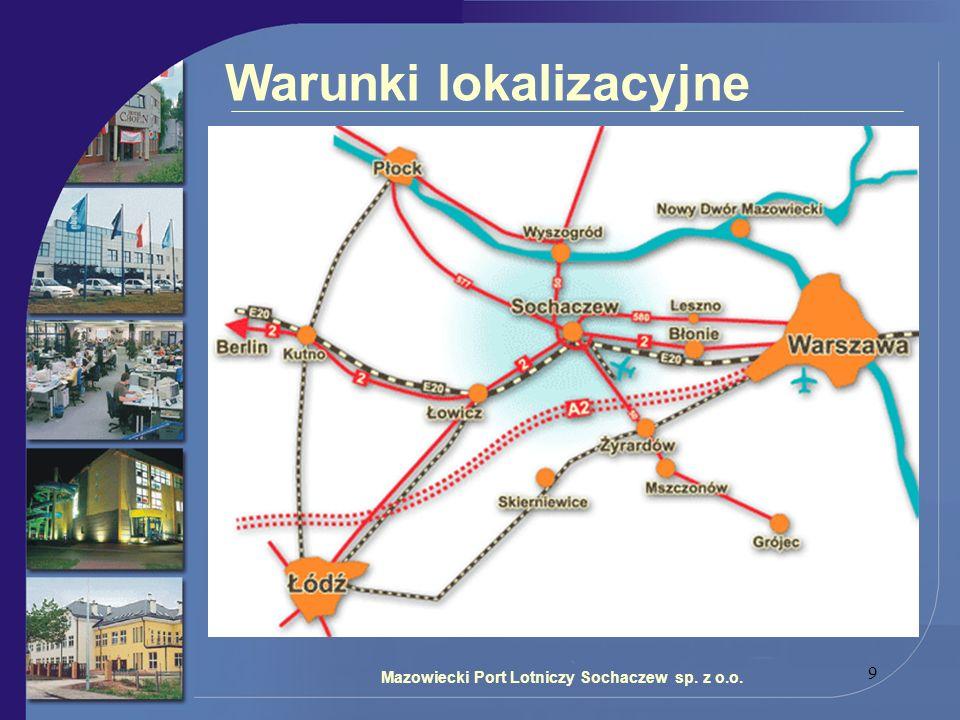 9 Warunki lokalizacyjne Mazowiecki Port Lotniczy Sochaczew sp. z o.o.