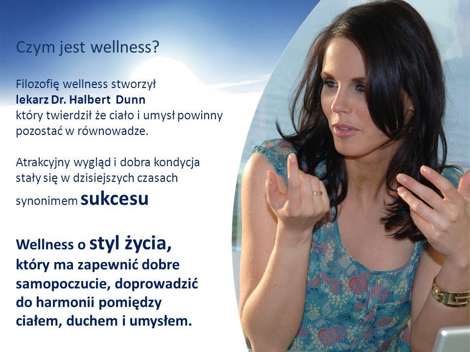 Czym jest wellness? Wellness o styl życia, który ma zapewnić dobre samopoczucie, doprowadzić do harmonii pomiędzy ciałem, duchem i umysłem. Filozofię