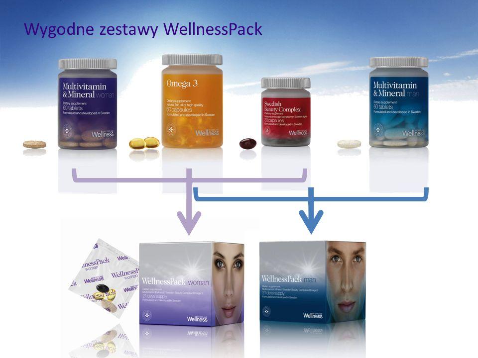 Wygodne zestawy WellnessPack