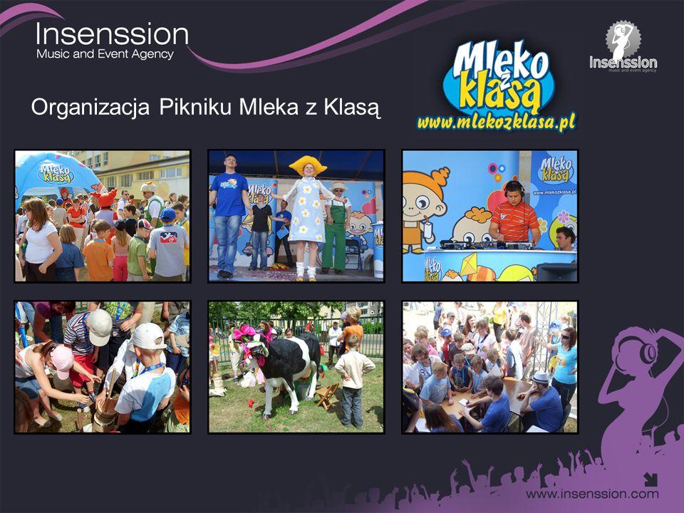 Organizacja Pikniku Mleka z Klasą