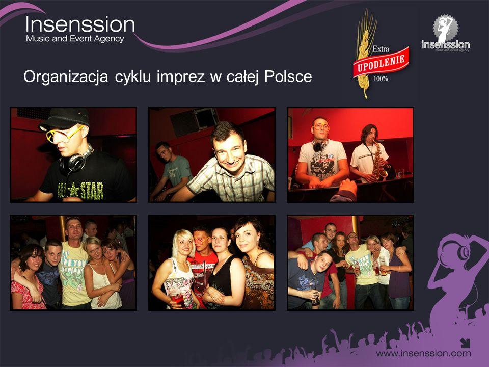 Organizacja cyklu imprez w całej Polsce