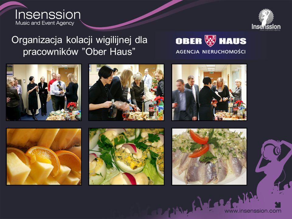 Organizacja kolacji wigilijnej dla pracowników Ober Haus