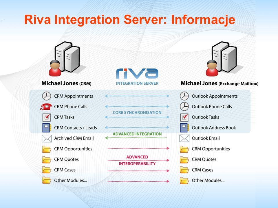 Riva Integration Server: Informacje