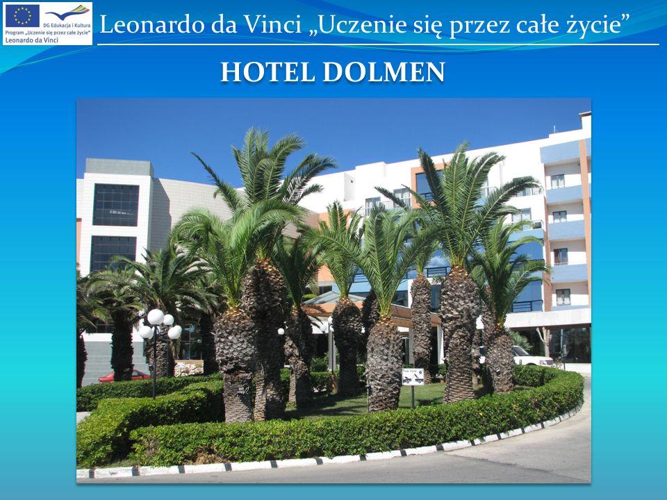 HOTEL DOLMEN Leonardo da Vinci Uczenie się przez całe życie
