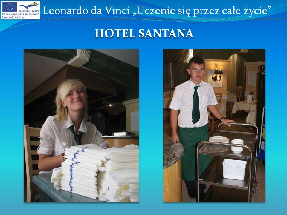 HOTEL SANTANA Leonardo da Vinci Uczenie się przez całe życie