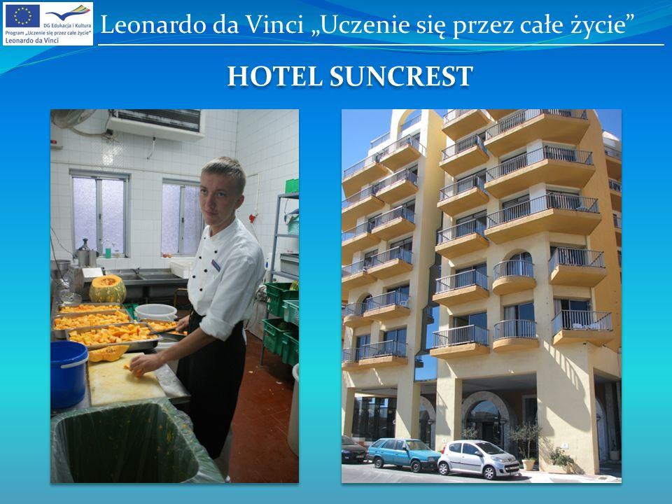HOTEL SUNCREST Leonardo da Vinci Uczenie się przez całe życie