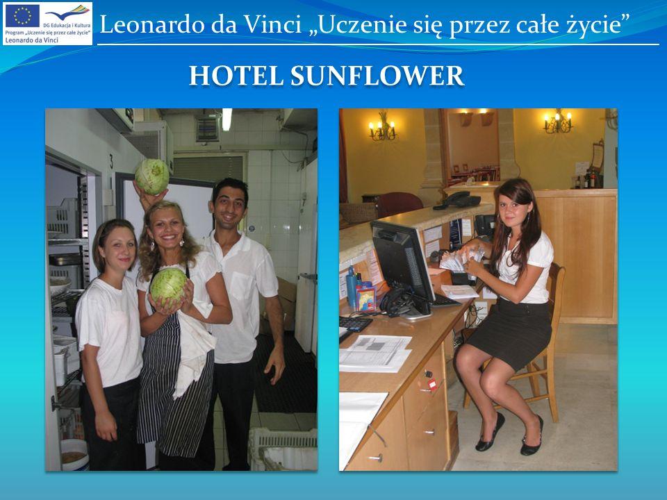 HOTEL SUNFLOWER Leonardo da Vinci Uczenie się przez całe życie