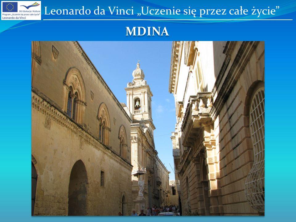 MDINA Leonardo da Vinci Uczenie się przez całe życie