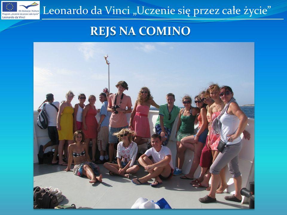 REJS NA COMINO Leonardo da Vinci Uczenie się przez całe życie
