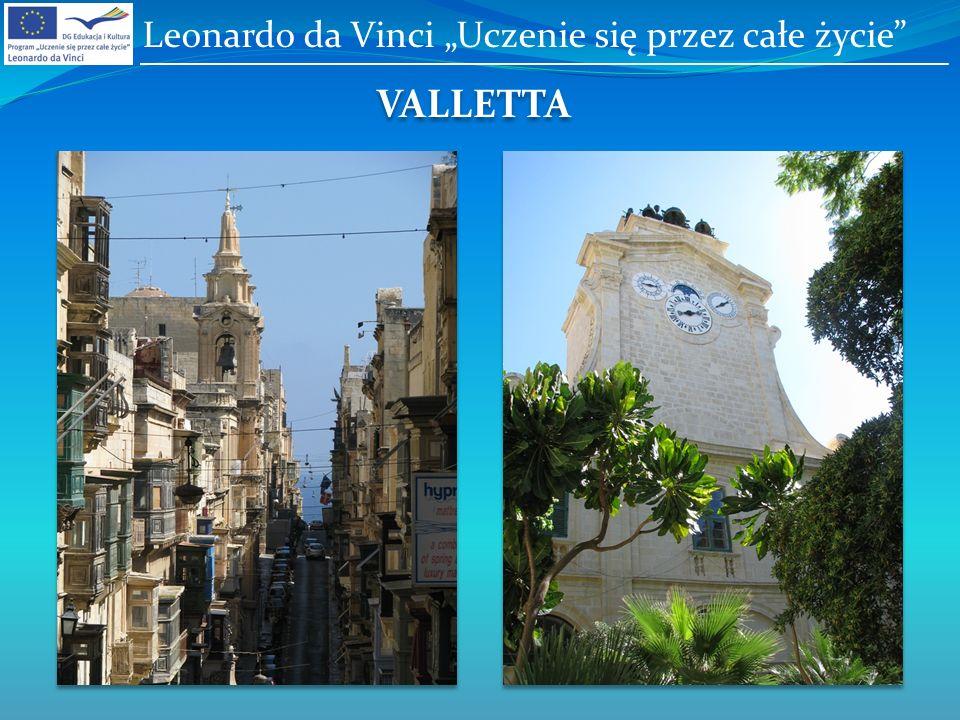 VALLETTA Leonardo da Vinci Uczenie się przez całe życie