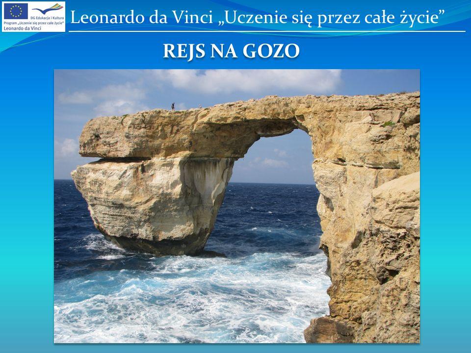 REJS NA GOZO Leonardo da Vinci Uczenie się przez całe życie