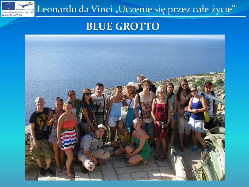 BLUE GROTTO Leonardo da Vinci Uczenie się przez całe życie