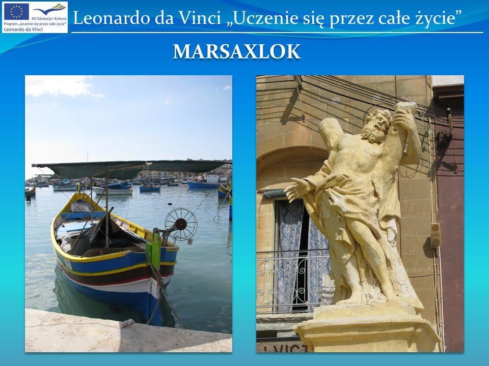 MARSAXLOK Leonardo da Vinci Uczenie się przez całe życie