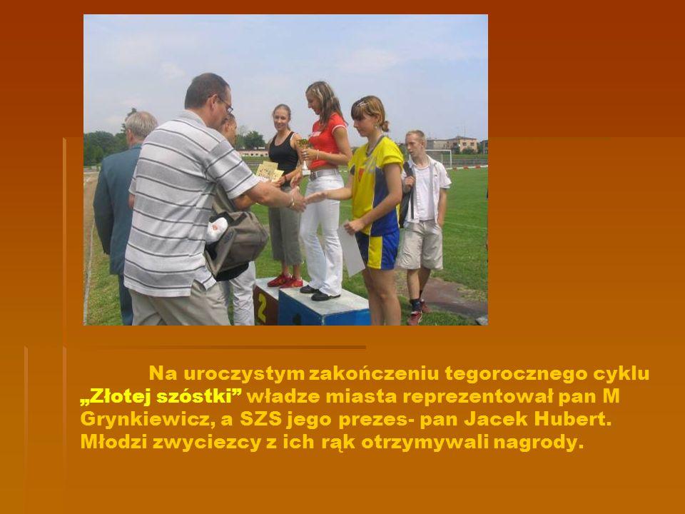 Oto nasze zwycięskie sztafety: 4100m w składzie: Monika Żarska, Klaudia Szczukocka, Monika Marczyńska, Agata Janota.