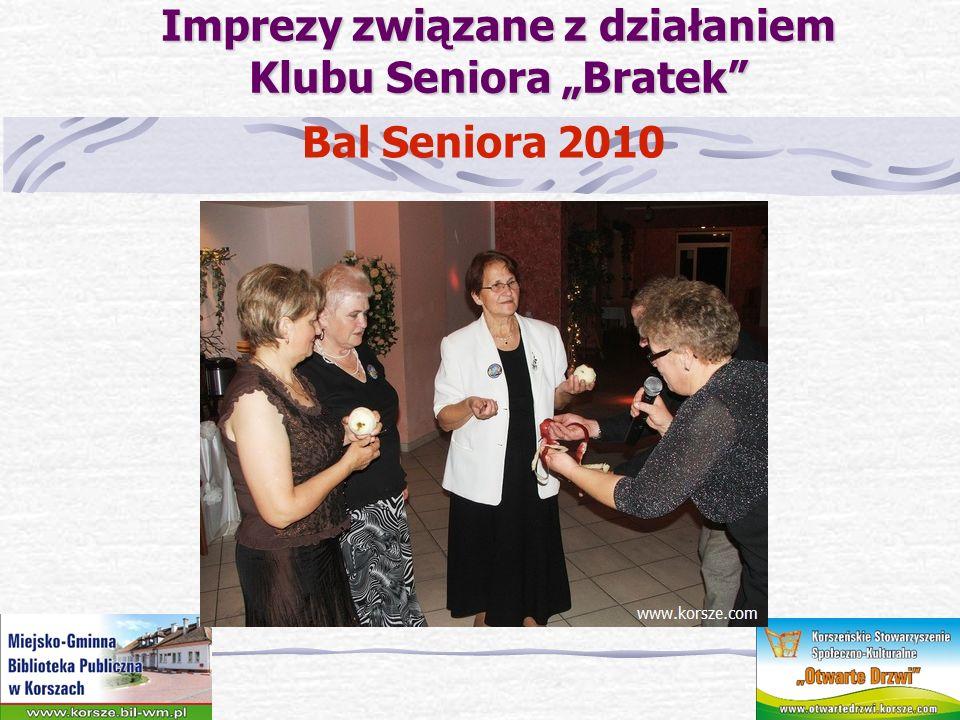 Imprezy związane z działaniem Klubu Seniora Bratek Bal Seniora 2010