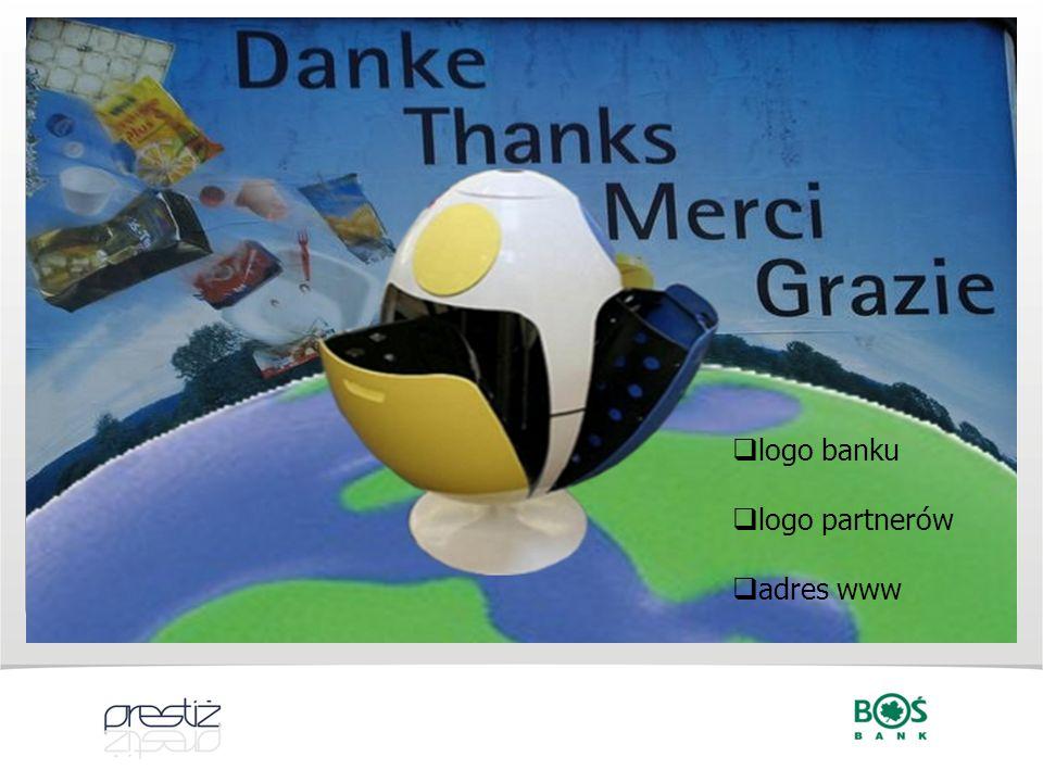 logo banku logo partnerów adres www