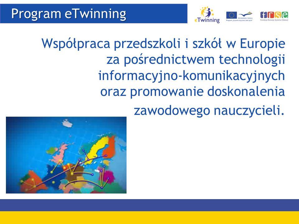 Portal www.etwinning.net Portal www.etwinning.net Portal publiczny Pulpit nauczyciela TwinSpace
