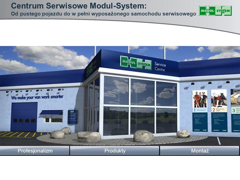 Centrum Serwisowe Modul-System: Od pustego pojazdu do w pełni wyposażonego samochodu serwisowego MontażProfesjonalizmProdukty
