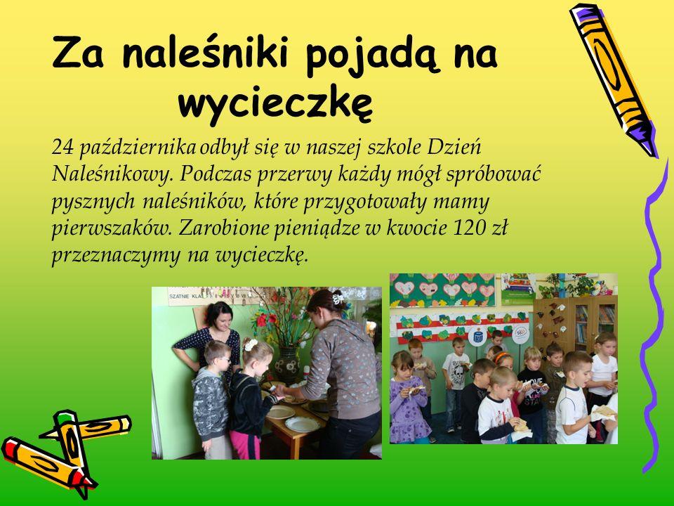 24 października odbył się w naszej szkole Dzień Naleśnikowy. Podczas przerwy każdy mógł spróbować pysznych naleśników, które przygotowały mamy pierwsz