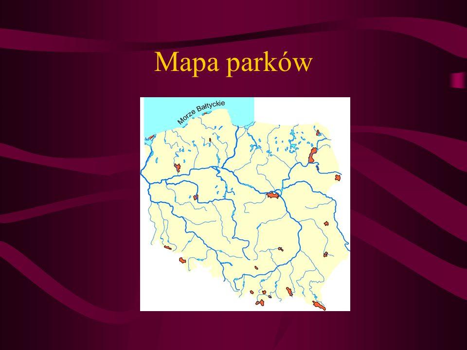Wiadomości ogólne mapa parków wykaz parków