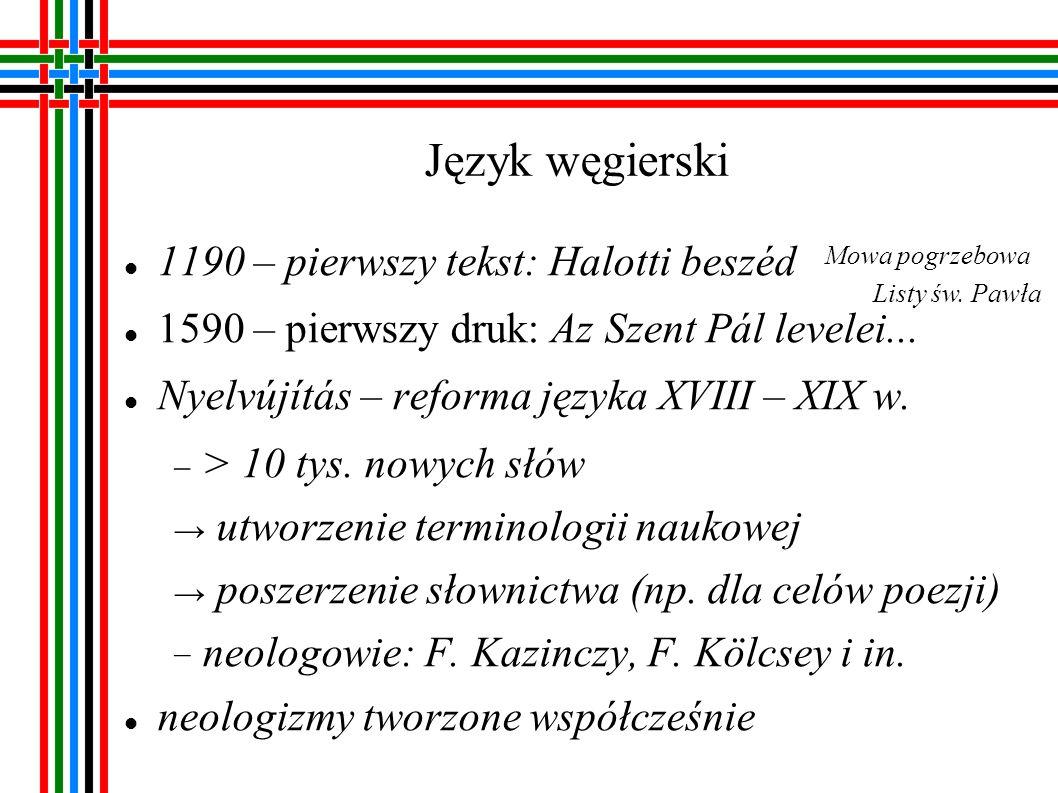 Język fiński Reformacja: bp Mikael Agricola – twórca jęz.