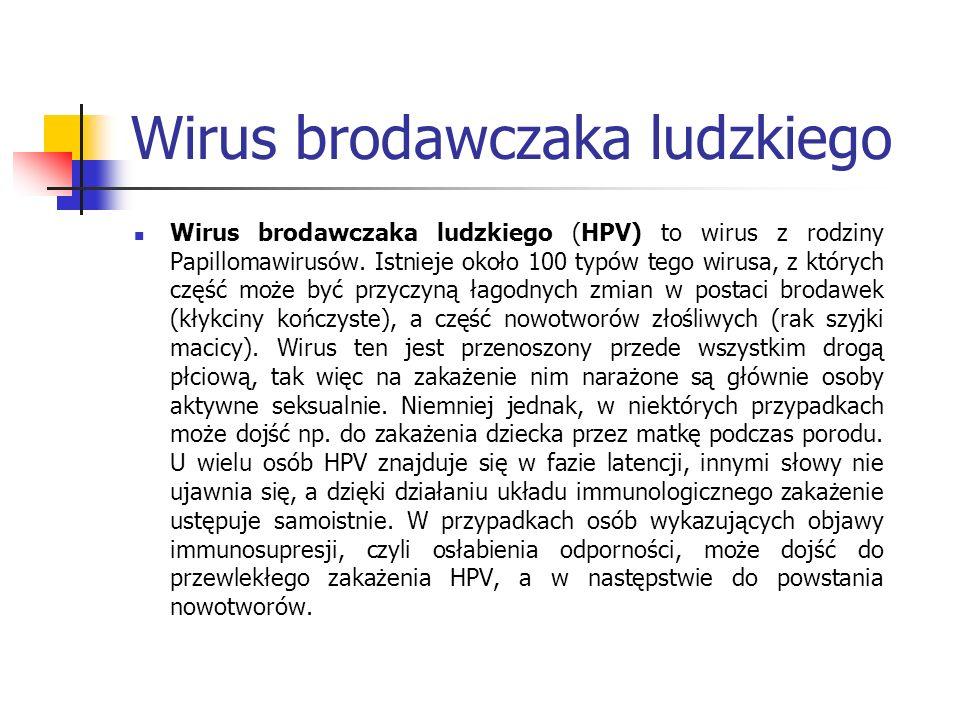 Ryc.2 HPV w obrazie mikroskopu elektronowego (źródło: http://visualsonline.cancer.gov/details.cfm?imageid=2255 ) Ryc.3 Schemat budowy genomu HPV (źródło: http://pl.wikipedia.org/wiki/Grafika:Hpv16b.gif#filehistory )