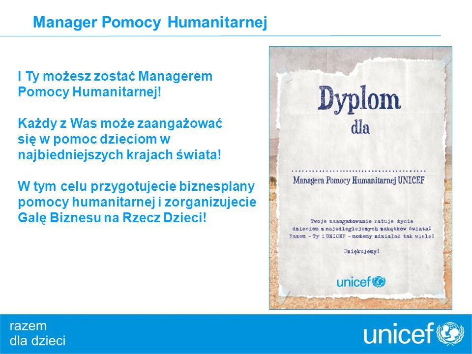 Manager Pomocy Humanitarnej I Ty możesz zostać Managerem Pomocy Humanitarnej.