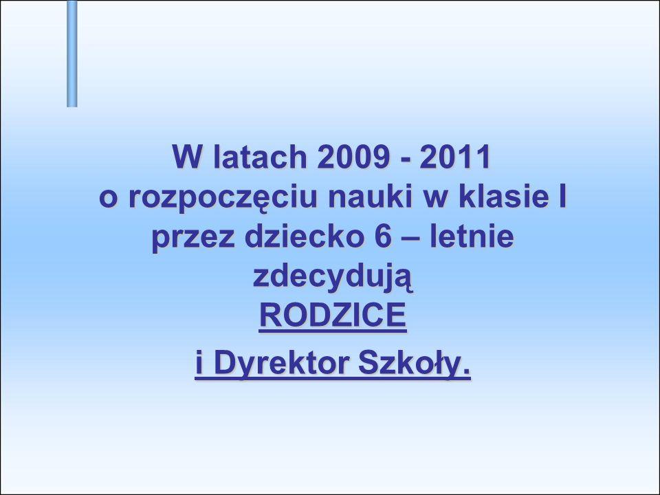 Ważne.Od 1 września 2009r. w: Od 1 września 2009r.
