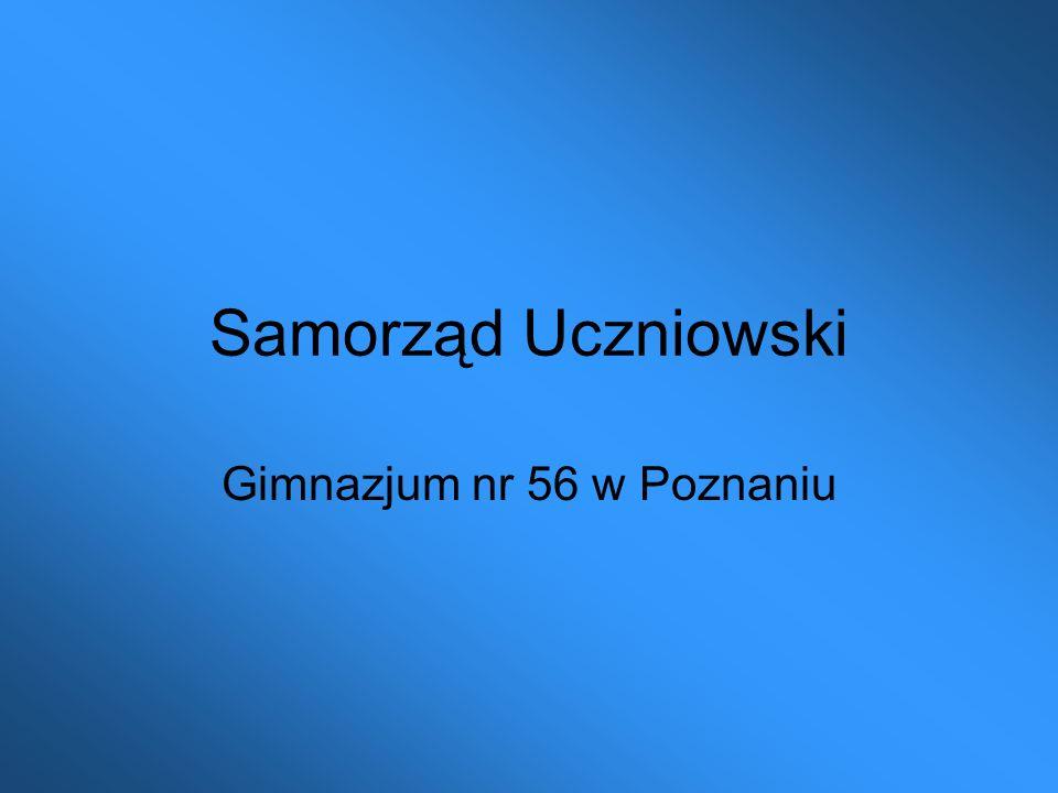 Samorząd Uczniowski Gimnazjum nr 56 w Poznaniu
