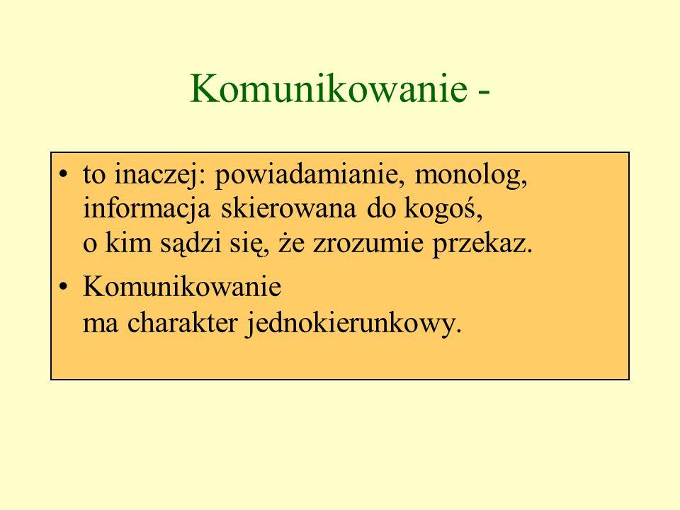 Katarzyna Cekała Poznajemy gry i zabawy rozwijające umiejętności komunikacyjne Prezentacja opublikowana w Internetowym Serwisie Oświatowym AWANS.NET www.awans.net