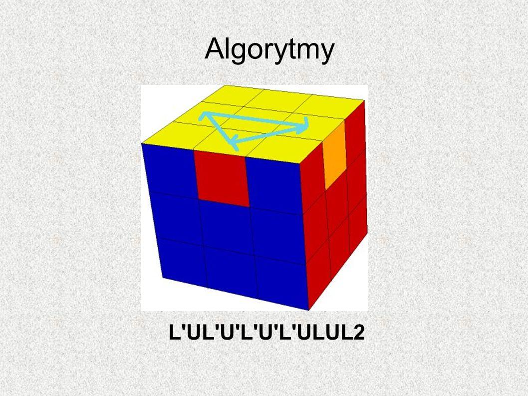 Algorytmy L'UL'U'L'U'L'ULUL2