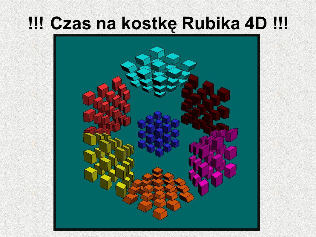 !!! Czas na kostkę Rubika 4D !!!