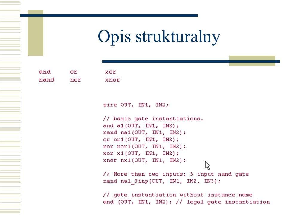 Opis strukturalny