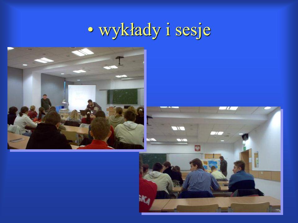 wykłady i sesje wykłady i sesje