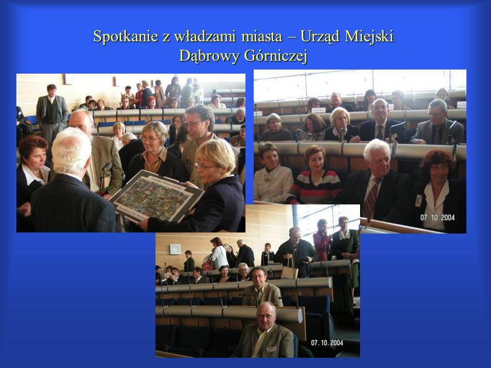 Spotkanie z władzami miasta – Urząd Miejski Dąbrowy Górniczej