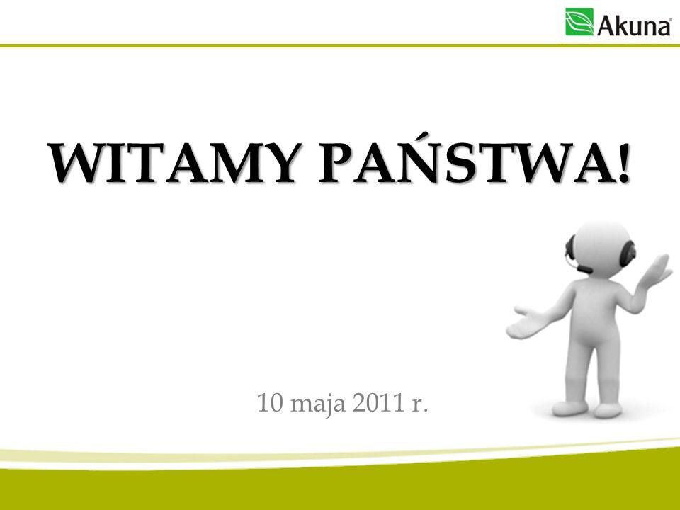 WITAMY PAŃSTWA! 10 maja 2011 r.