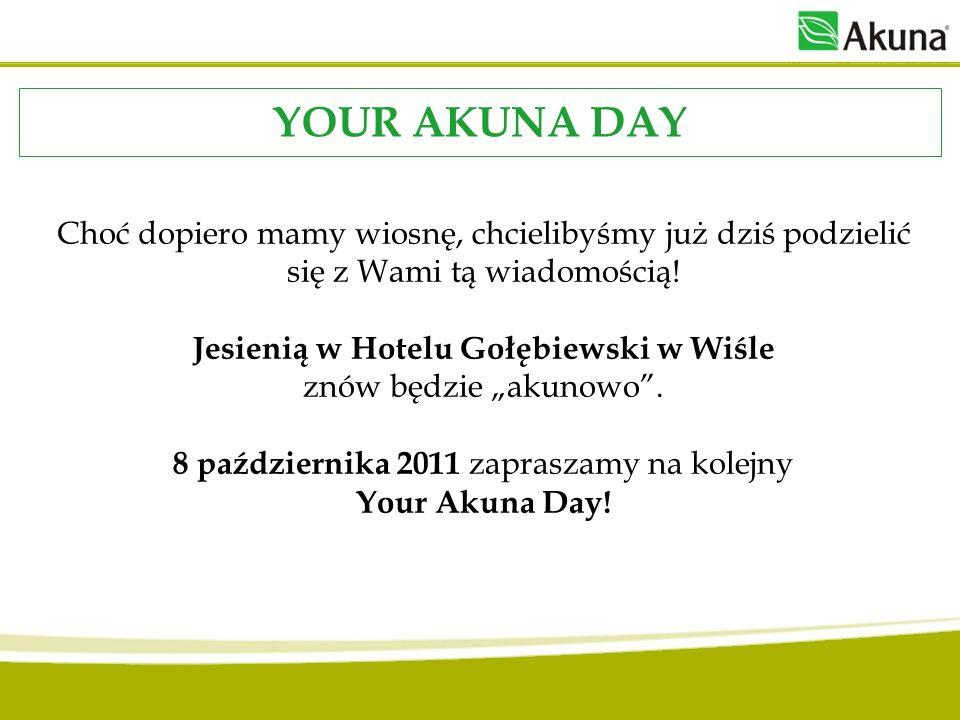 Choć dopiero mamy wiosnę, chcielibyśmy już dziś podzielić się z Wami tą wiadomością! Jesienią w Hotelu Gołębiewski w Wiśle znów będzie akunowo. 8 paźd