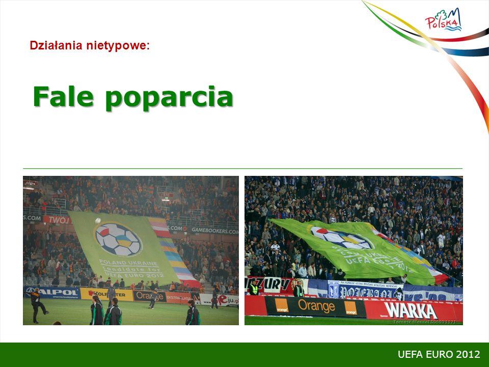 Działania nietypowe: UEFA EURO 2012 Fale poparcia