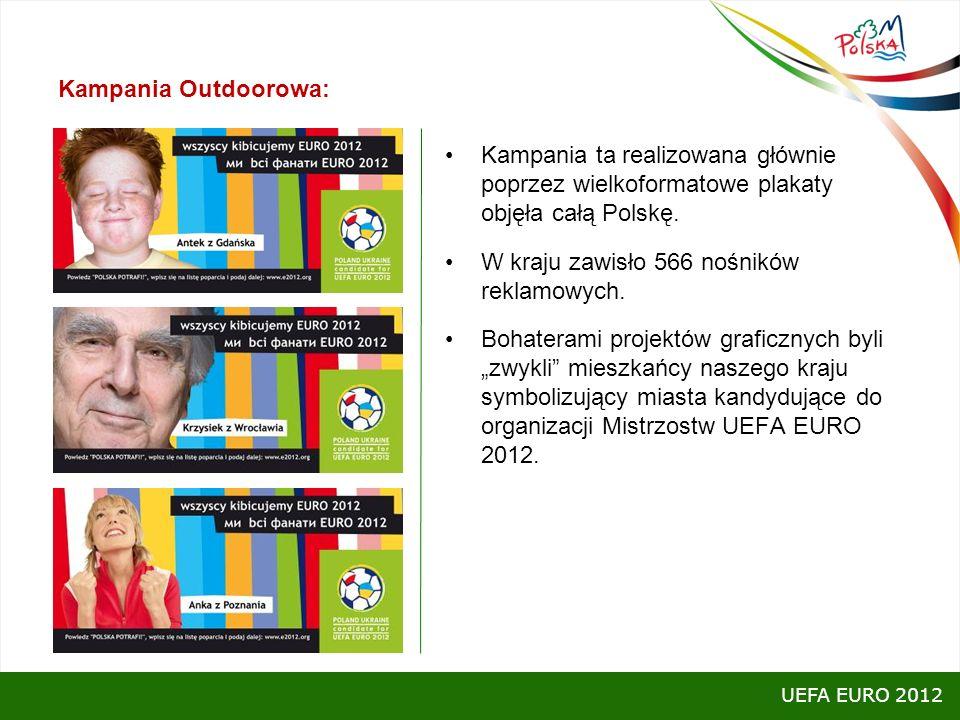 Kampania Outdoorowa: Kampania ta realizowana głównie poprzez wielkoformatowe plakaty objęła całą Polskę. W kraju zawisło 566 nośników reklamowych. Boh