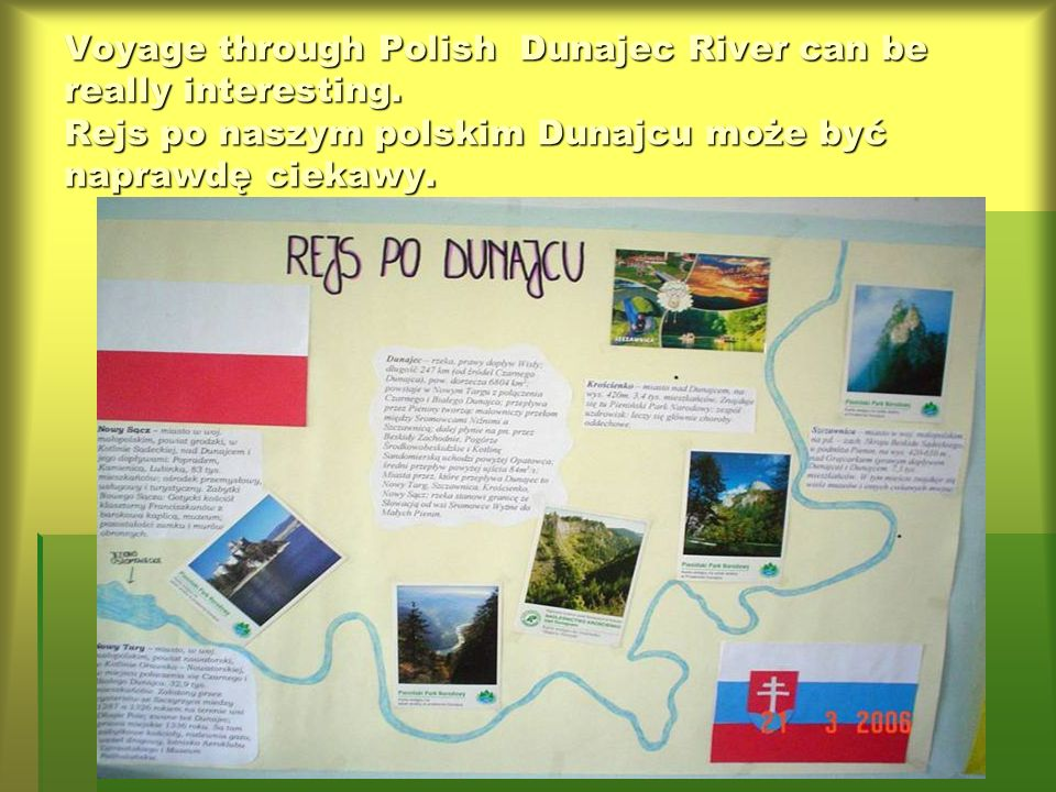 LITTLE SHIP SWIMS ROUND THE SEA MOJA PODRÓŻ PO EUROPIE In groups of 3-4 students we did art works about chosen route of voyage along European river or