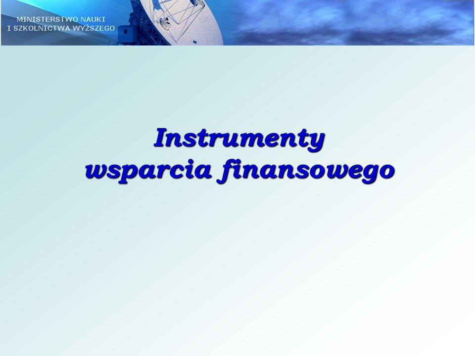 Instrumenty wsparcia finansowego