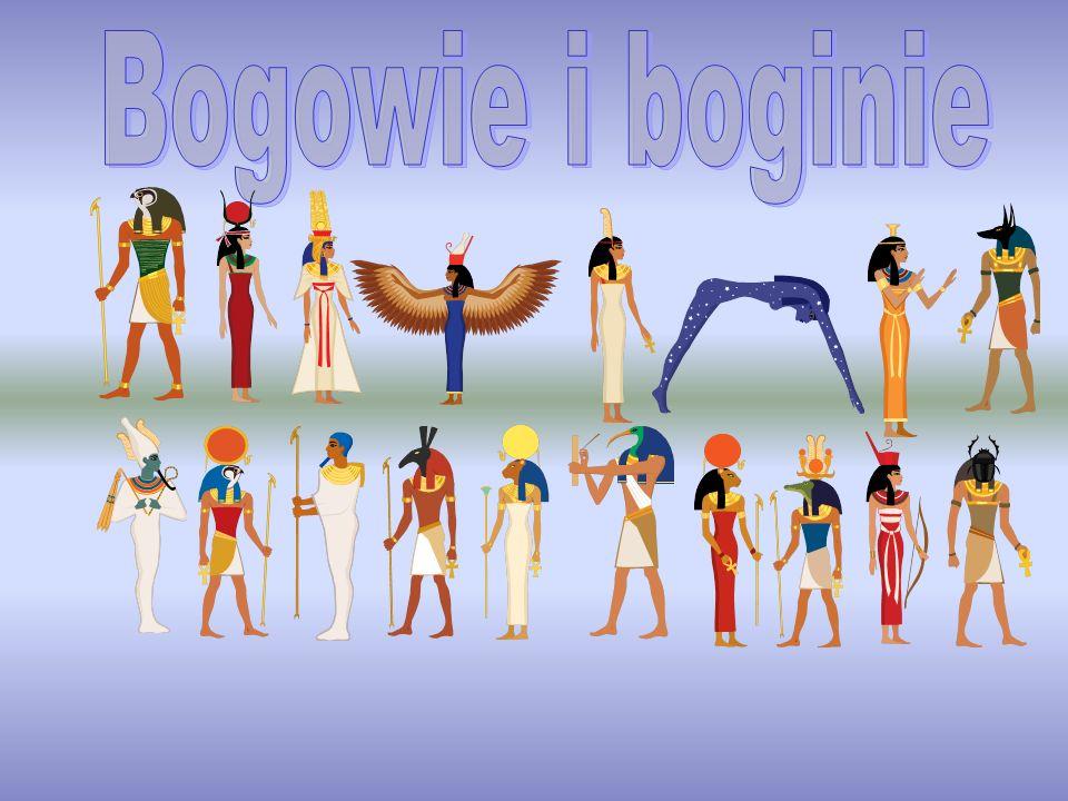 Horus – egipski bóg nieba, opiekun monarchii egipskiej.