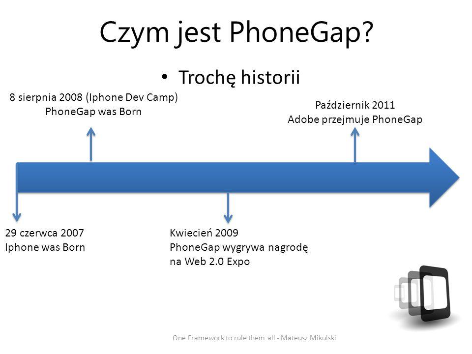 Czym jest PhoneGap.