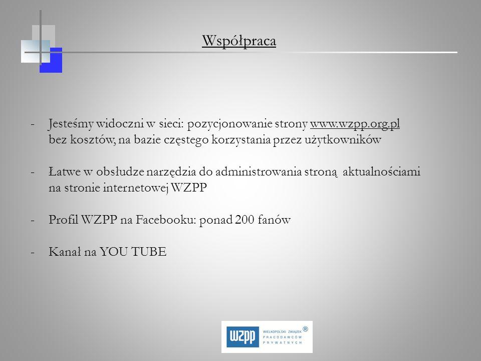 -Jesteśmy widoczni w sieci: pozycjonowanie strony www.wzpp.org.pl bez kosztów, na bazie częstego korzystania przez użytkowników -Łatwe w obsłudze narz