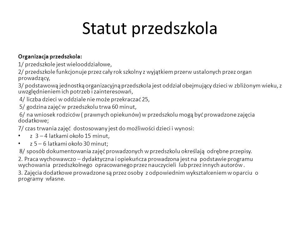Wyprawka przedszkolaka Od 1.09.2013r.