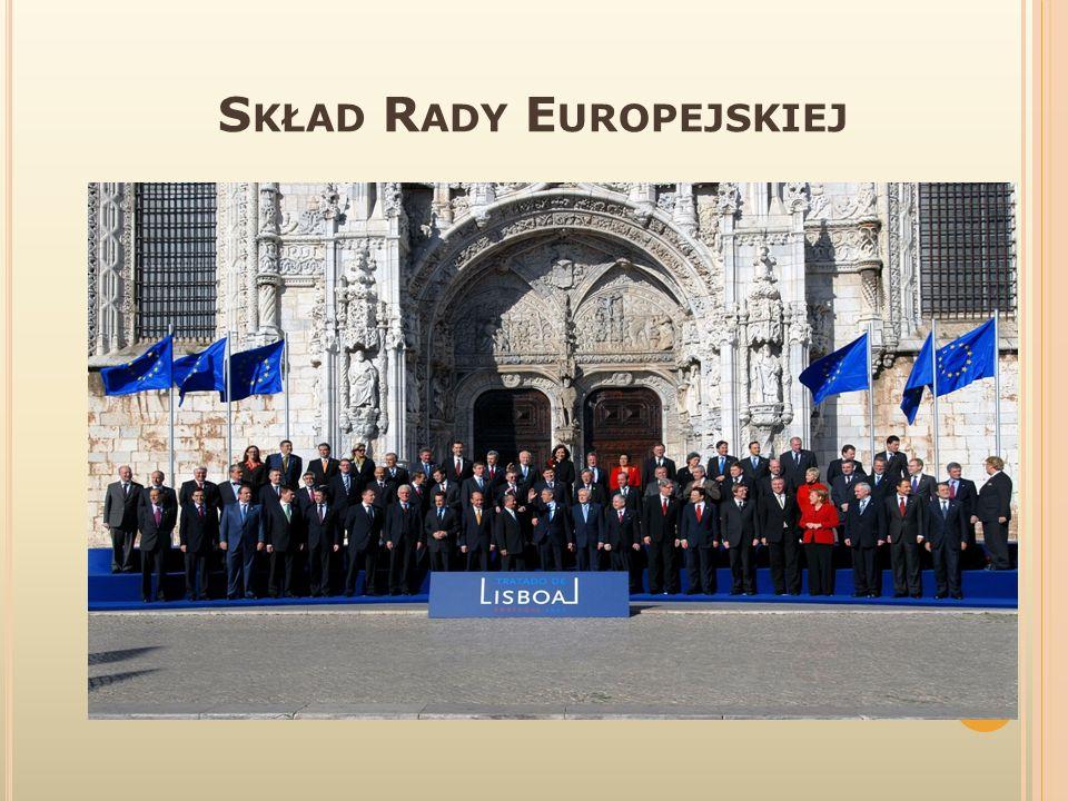 J AK D ZIAŁA R ADA E UROPEJSKA .Rada Europejska zbiera się dwa razy w ciągu półrocza.