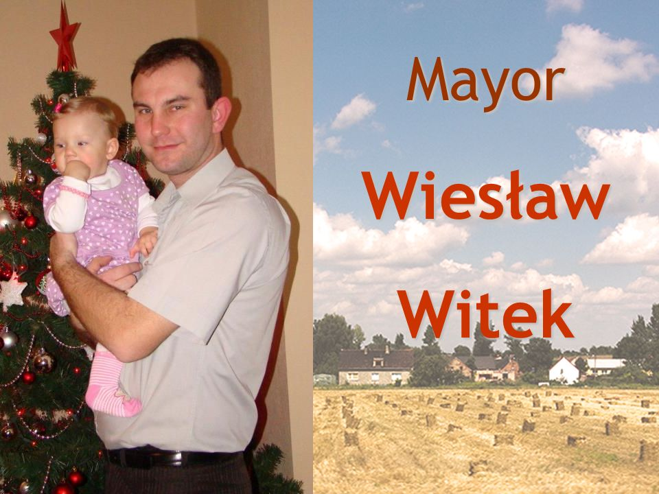 Mayor Wiesław Witek