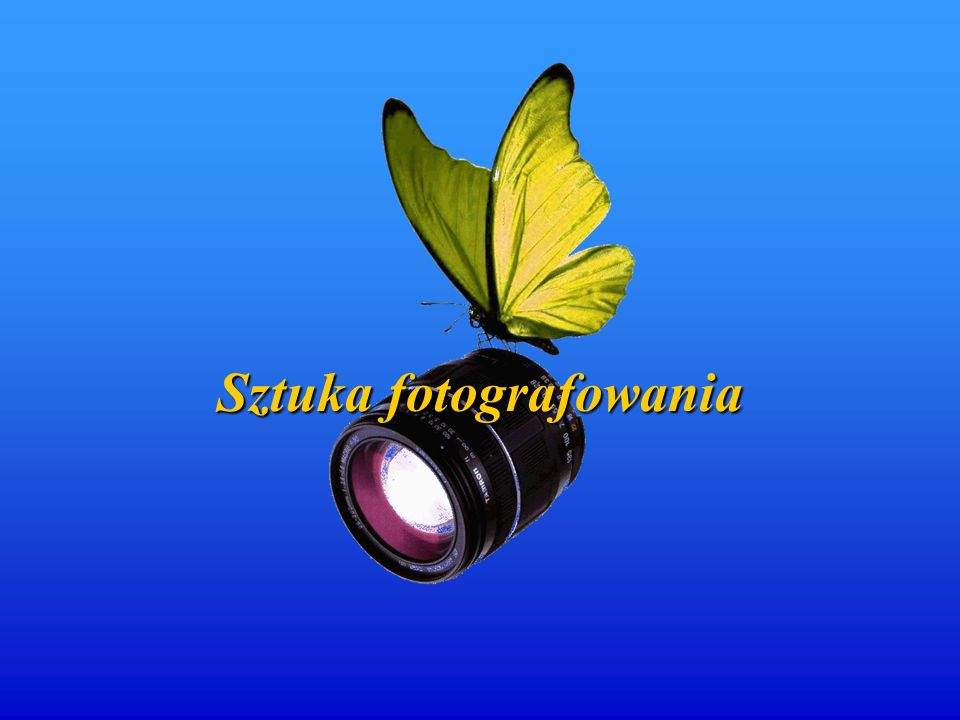 Sztukafotografowania Sztuka fotografowania